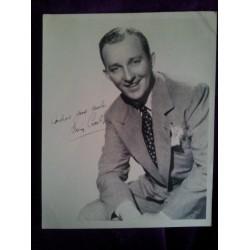 Bing Crosby autograph