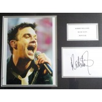 Robbie Williams autograph 2 (Take That)