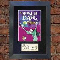 Roald Dahl Pre-Printed Autograph (The Witches)