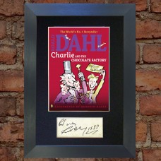Roald Dahl Pre-Printed Autograph (Charlie and the Chocolate Factory)