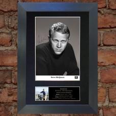Steve McQueen Pre-Printed Autograph 2 (The Great Escape)
