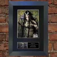 Cara Delevingne Pre-Printed Autograph (Suicide Squad)