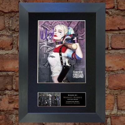 Margot Robbie Pre-Printed Autograph (Suicide Squad)