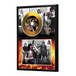AC/DC Gold Vinyl Display (Preprint) - 2