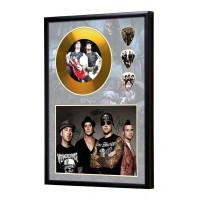 Avenged Sevenfold Gold Vinyl Display (Preprint)