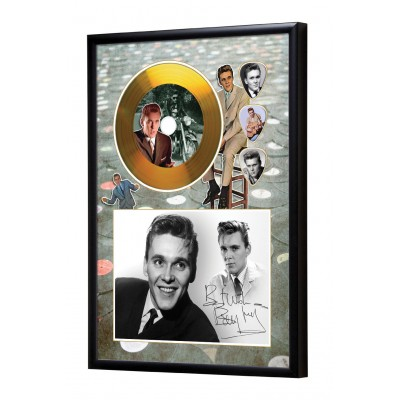 Billy Fury Gold Vinyl Display (Preprint) - 1