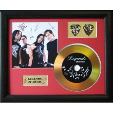 Bullet for My Valentine Gold Vinyl and Plectrum Display (Preprint)