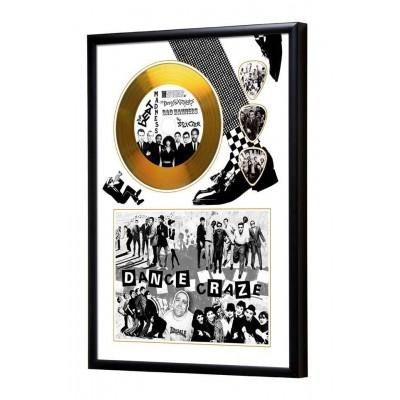 Dance Craze Gold Vinyl Display