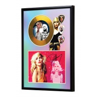 Debbie Harry Gold Vinyl Display (Preprint) - Blondie