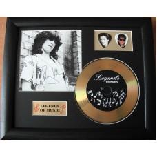 Gary Holton Gold Vinyl and Plectrum Display (Preprint)