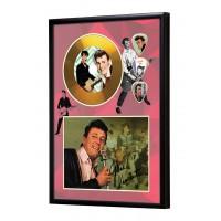 Gene Vincent Gold Vinyl Display (Preprint)