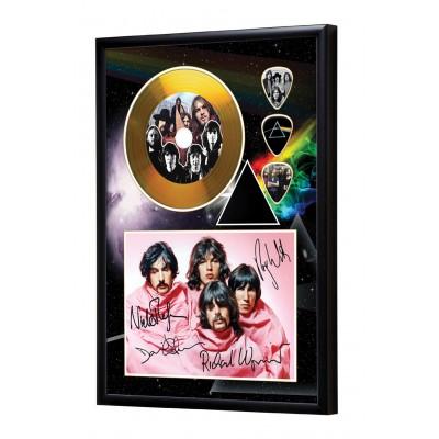 Pink Floyd Gold Vinyl Display (Preprint) - 2
