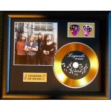 Pink Floyd Gold Vinyl and Plectrum Display (Preprint)