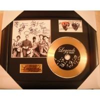The Specials Gold Vinyl and Plectrum Display (Preprint)