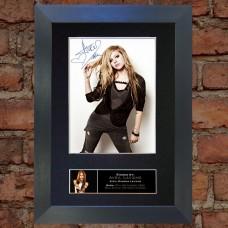 Avril Lavigne Pre-Printed Autograph