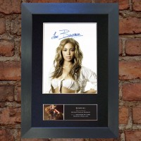 Beyonce Pre-Printed Autograph 1 (Destiny's Child)