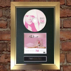 Nicki Minaj Pre-Printed Autograph (Pink Friday)
