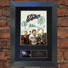 A Day to Remember Pre-Printed Autograph