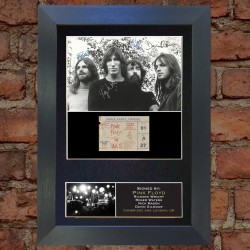 Pink Floyd Pre-Printed Autograph 1