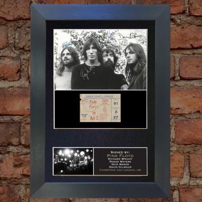 Pink Floyd Pre-Printed Autograph 1