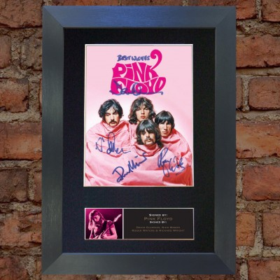 Pink Floyd Pre-Printed Autograph 2