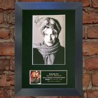 David Bowie Pre-Printed Autograph