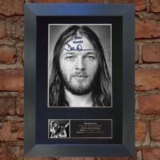 David Gilmour Pre-Printed Autograph (Pink Floyd)