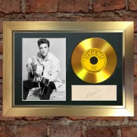 Elvis Presley Pre-Printed Autograph (That's All Right)
