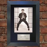 Elvis Presley Pre-Printed Autograph 2