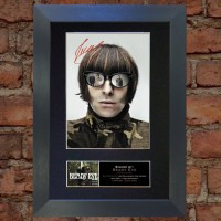 Liam Gallagher Pre-Printed Autograph (Beady Eye)
