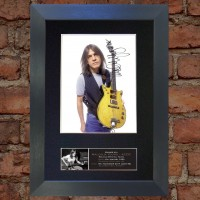 Malcolm Young Pre-Printed Autograph (AC/DC)