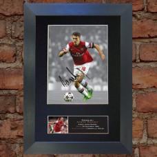 Aaron Ramsey Pre-Printed Autograph (Arsenal)