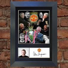 Alex Ferguson Pre-Printed Autograph (Man United)