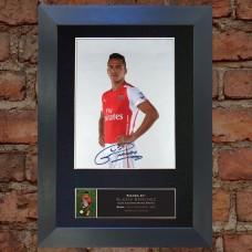 Alexis Sanchez Pre-Printed Autograph (Arsenal)