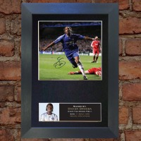 Didier Drogba Pre-Printed Autograph 1 (Chelsea)