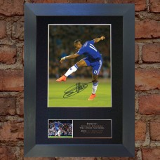 Didier Drogba Pre-Printed Autograph 2 (Chelsea)