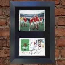 England team Pre-Printed Autograph (World Cup 1966)