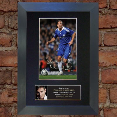 Frank Lampard Pre-Printed Autograph (Chelsea)