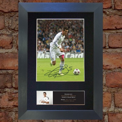 Gareth Bale Pre-Printed Autograph (Real Madrid)