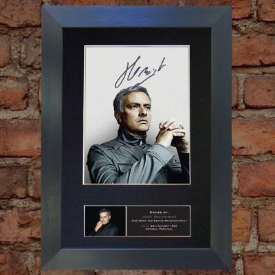 Jose Mourinho Pre-Printed Autograph (Chelsea; Man United)