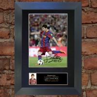 Lionel Messi Pre-Printed Autograph (Barcelona)