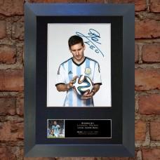 Lionel Messi Pre-Printed Autograph (Argentina)