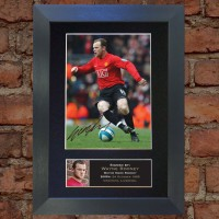 Wayne Rooney Pre-Printed Autograph 2 (Man United)
