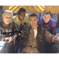 Robert Llewellyn and Danny John-Jules autograph (Red Dwarf)
