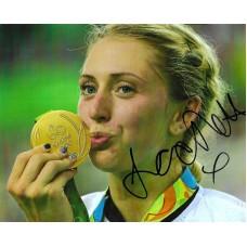 Laura Trott autograph