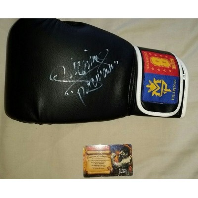 Manny Pacquiao Signed Boxing Glove
