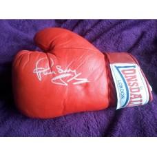 Paul 'Silky' Jones Signed Boxing Glove