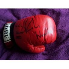 Richie Woodhall Signed Boxing Glove