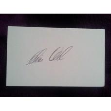 Chris Old autograph