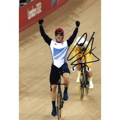 Chris Hoy autograph 2